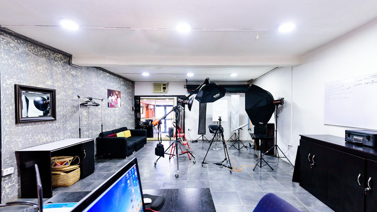 Our studio space