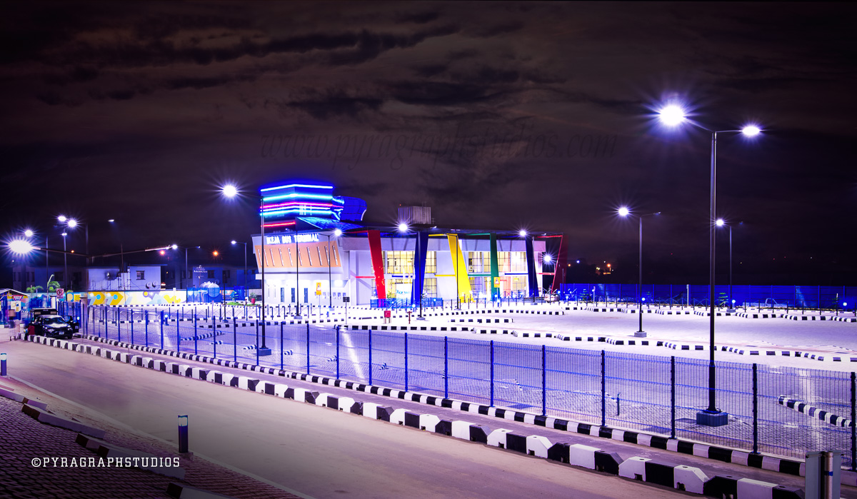 Nigeria's First Modern Bus Terminal in Ikeja - Photo By Lanre Oladejo