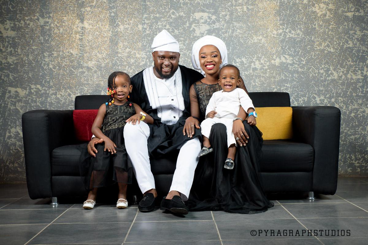 Family Photoshoot at Pyragraph studios