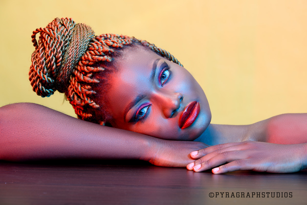 Fierce Beauty Portrait Shoot with Zaynee karmani - Pyragraph Studios