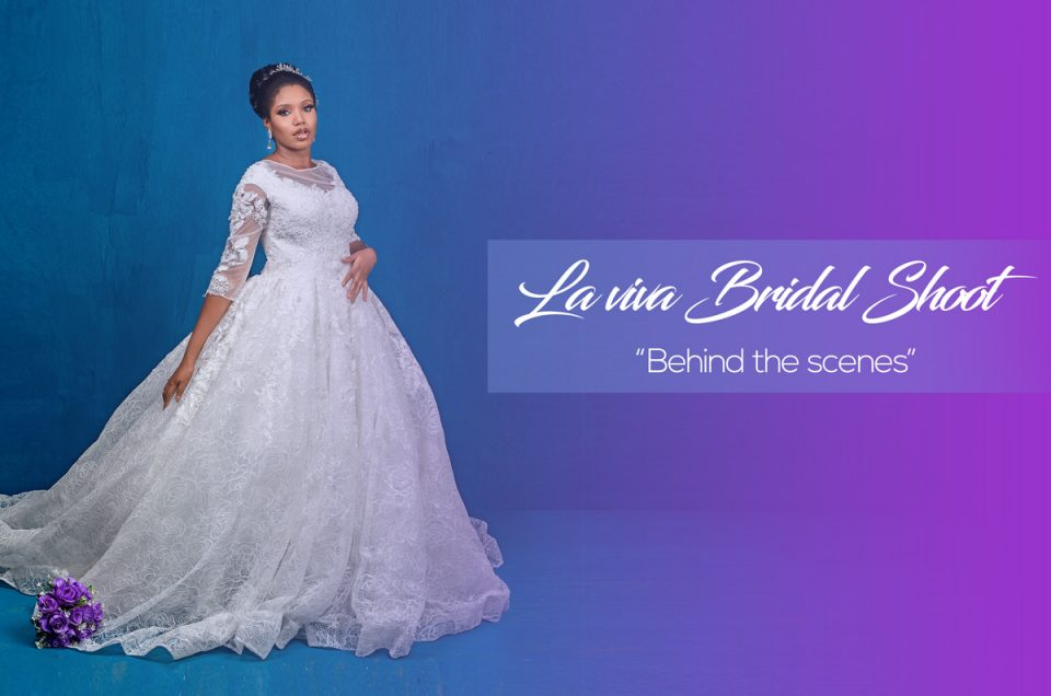 BTS Bridal Product Photography with Laviva Bridal